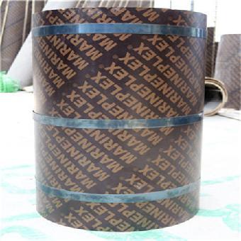 木制清水圆模板